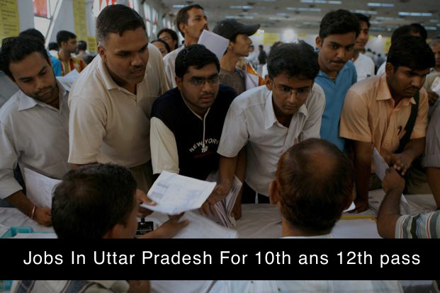 jobs in up for 10th and 12th pass