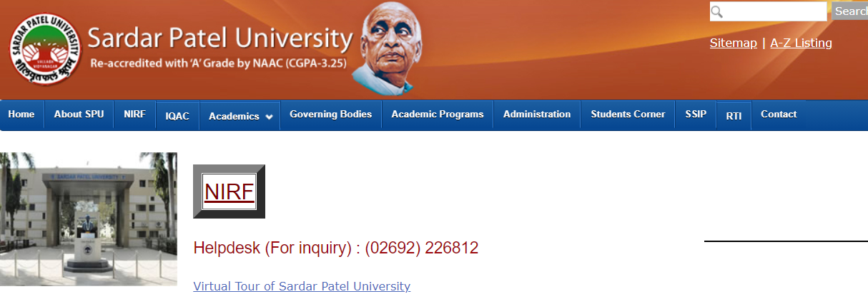 (SPUVVN) SP University Result 2021