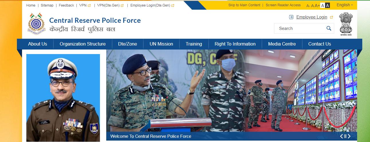 CRPF Recruitment Bharti 2021