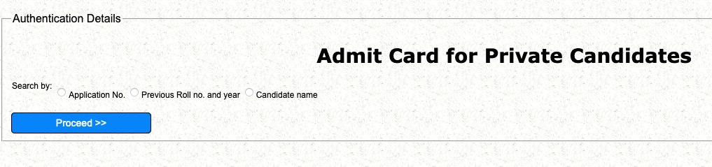 cbse compartment admit card download